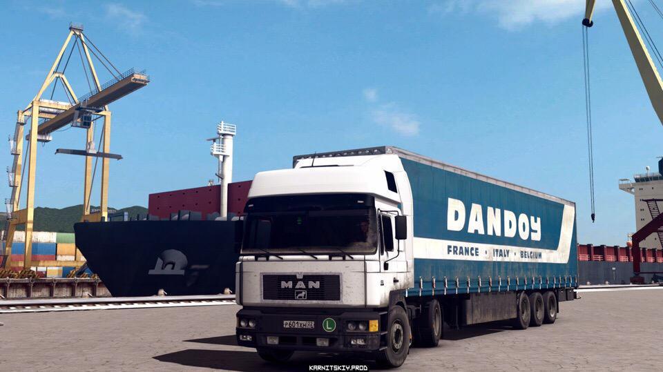 ETS2 - Man F2000 414 Comandor Truck (1.36.x)