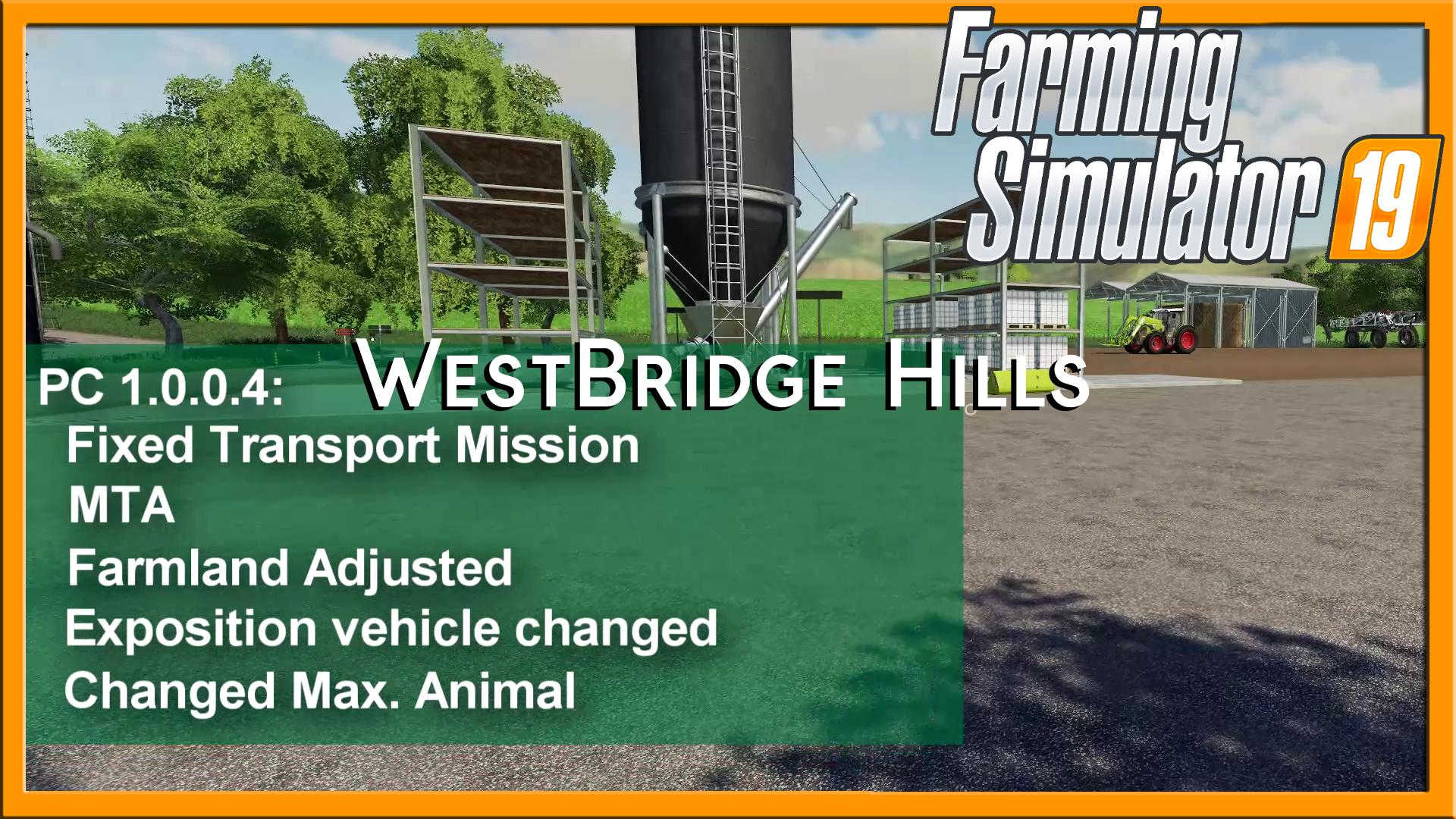 FS19 - Westbridge Hills Map V1.0.0.4