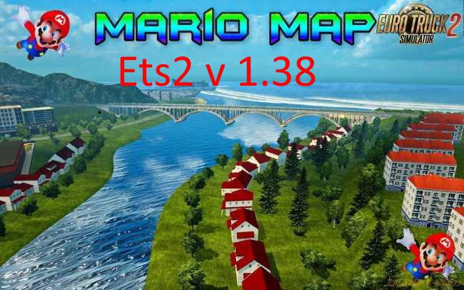 ETS2 - Mario Map (1.38.x)