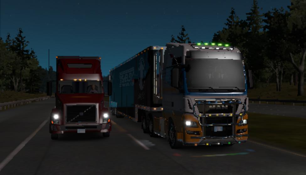 ATS - Man Tgx Truck (1.38.x)