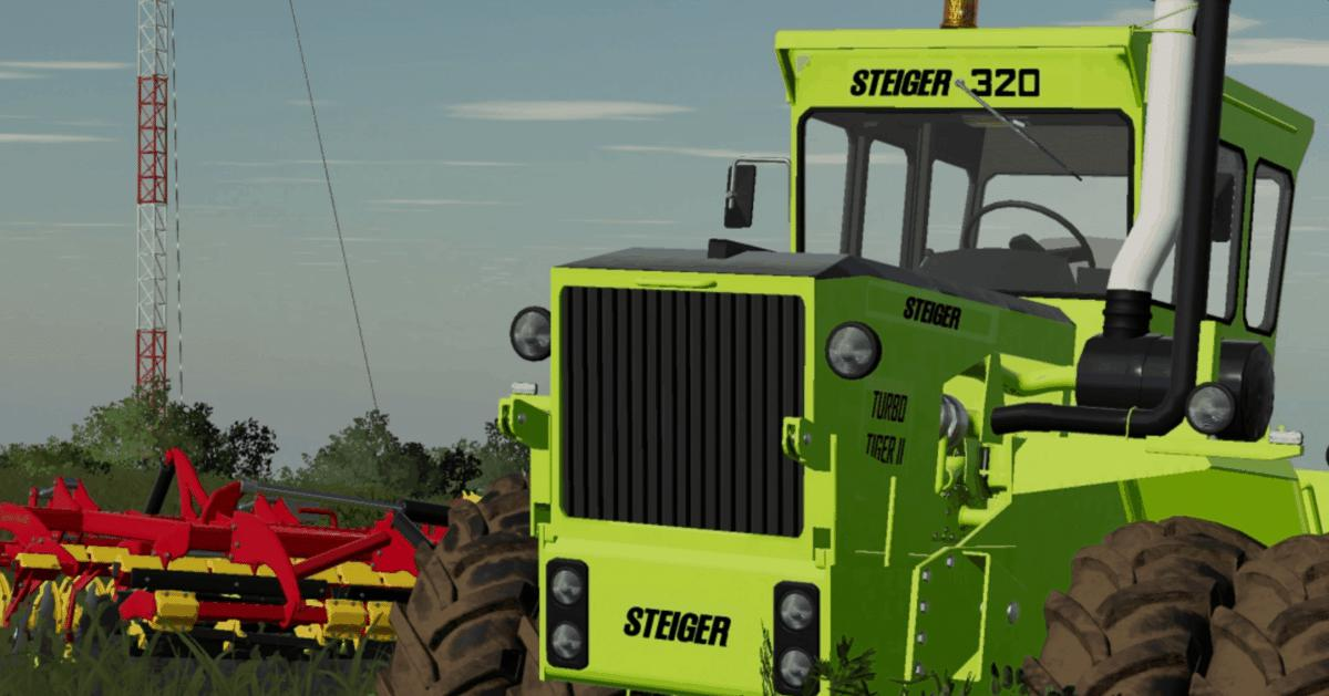 FS19 - Steiger Turbo Tiger ll Update V1.0