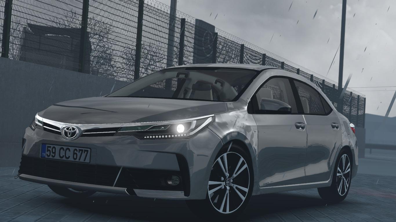 ETS2 - Toyota Corolla 2018 V1R20 (1.36.x)