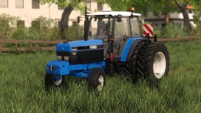 FS19 - Ford 3WD Tractor V1.0