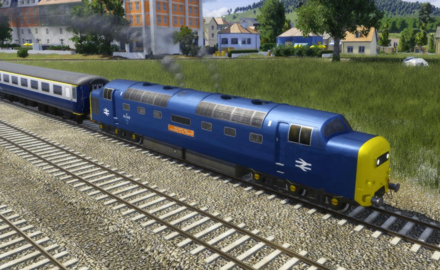 "Transport Fever 2 - Class 55 BR ""Deltic"""