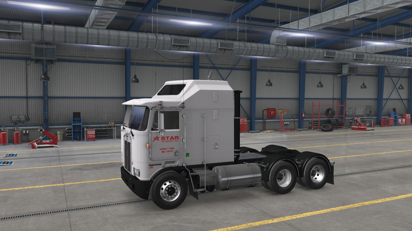 ATS - Star Transport Inc. Skin for Overfloaters Kenworth K100E (1.38.x)