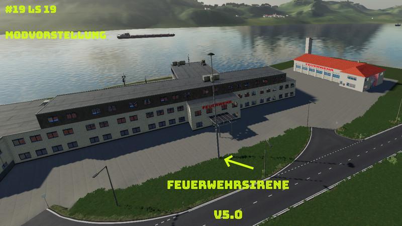 FS19 - Feuerwehrsirene V5.0a