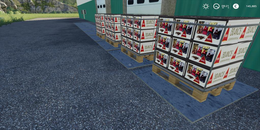FS19 - Placeable Delta Coffee V1.0