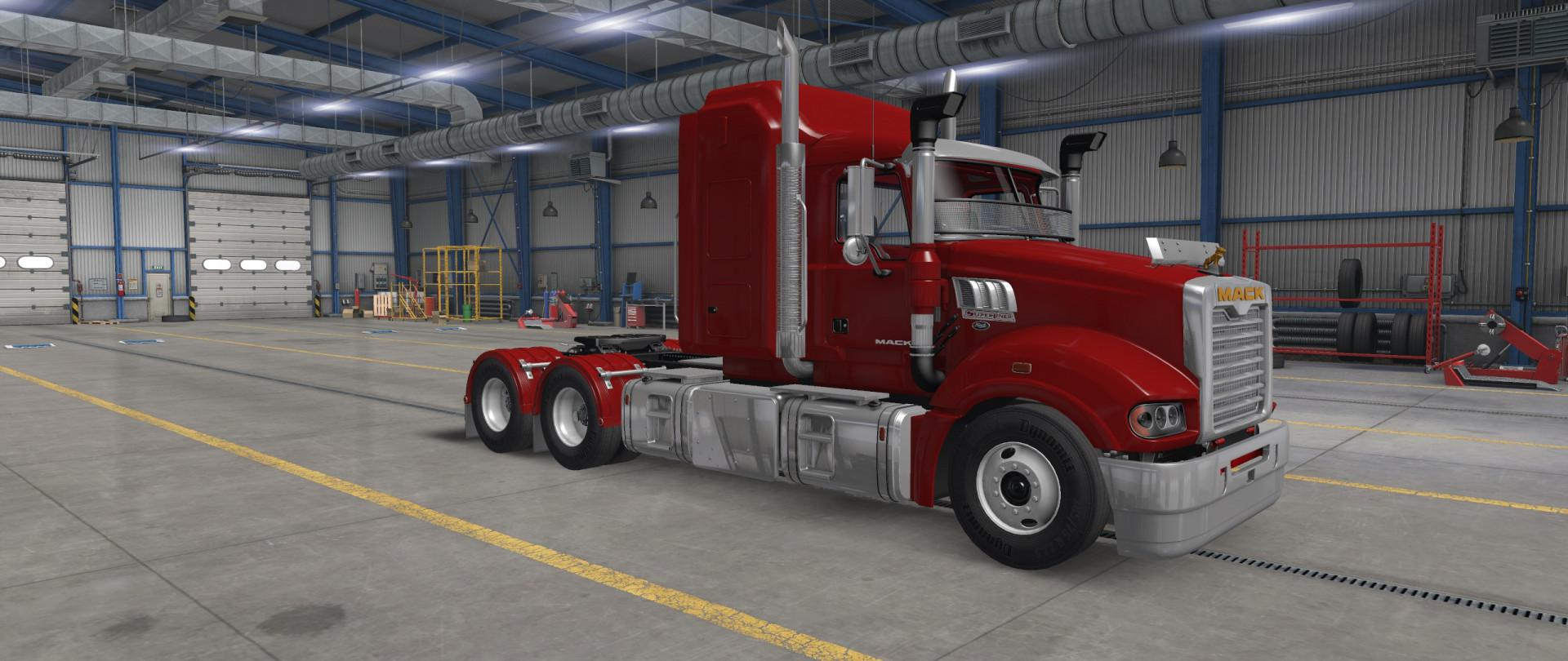 ATS - Mack Superliner Truck V1.0 (1.39.x)