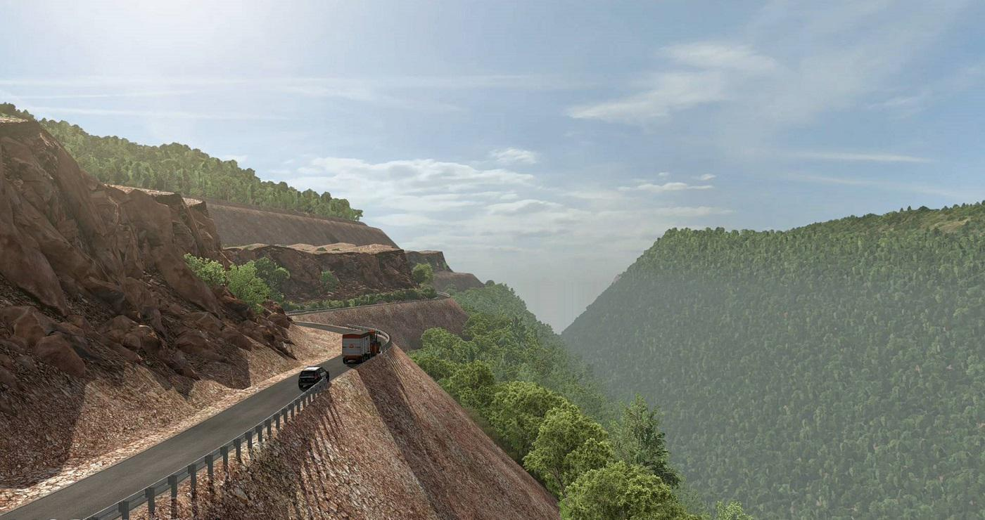 ATS - Map of Honduras Extreme and Dangerous Roads (1.37.x)