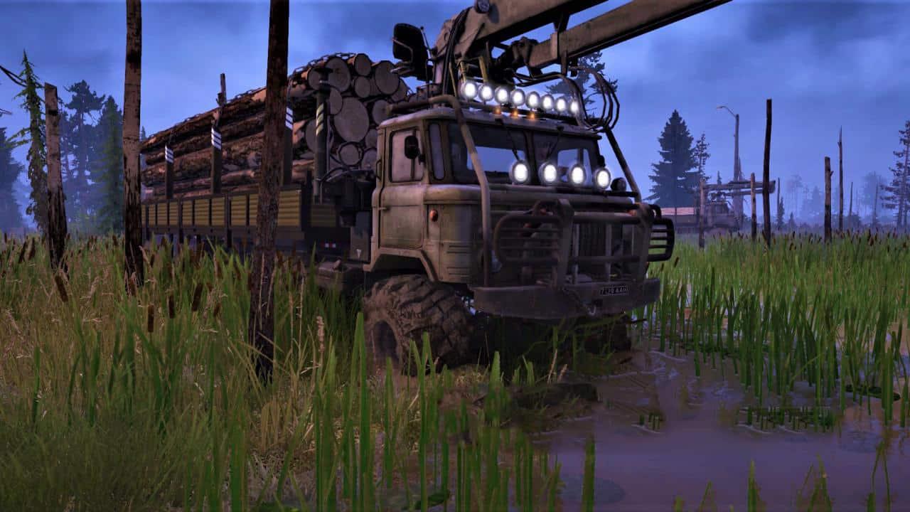Spintires:Mudrunner - Gas 66 Default Truck V1.0