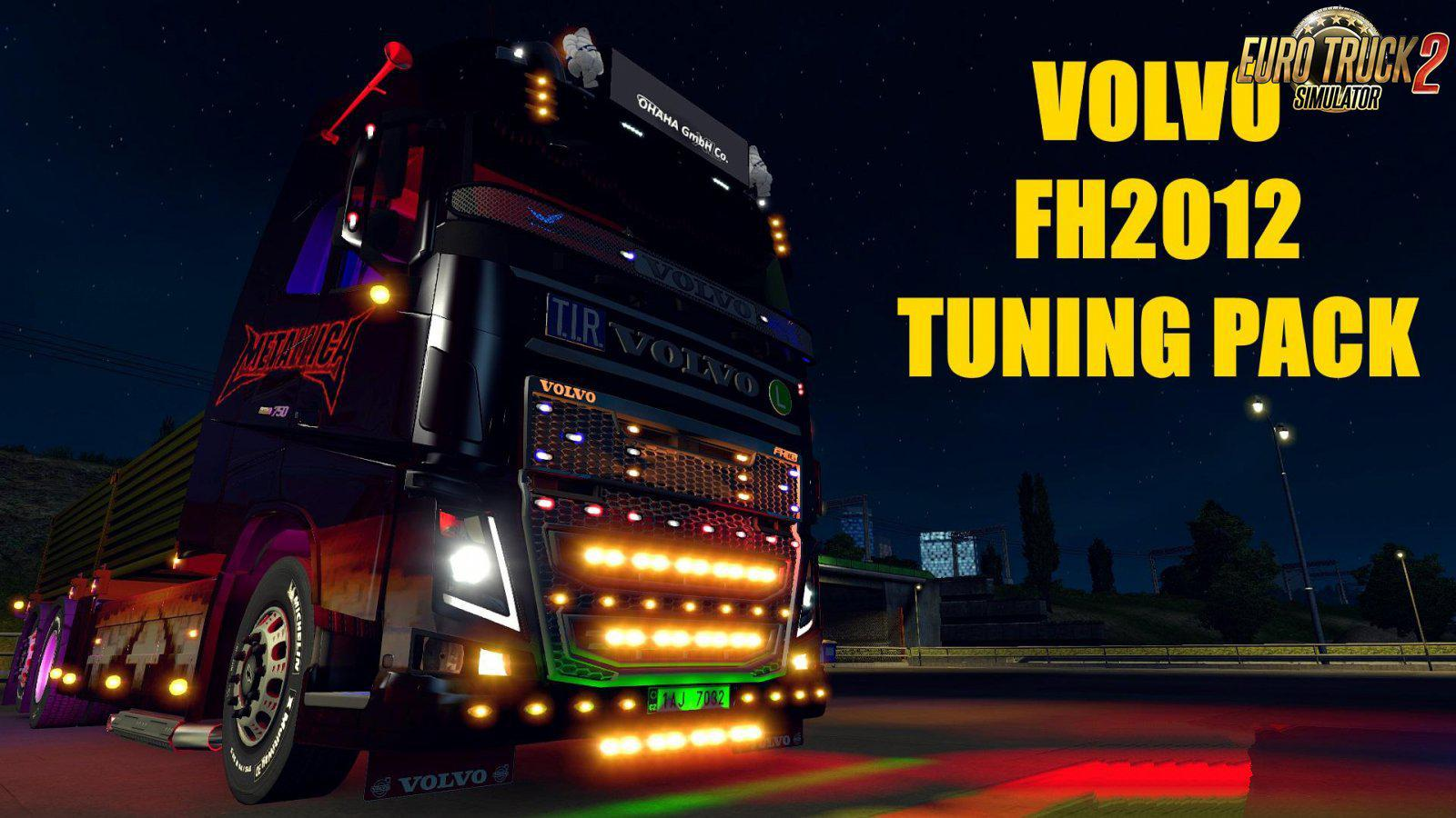 ETS2 - Volvo FH 2012 Tuning Pack V2.0 (1.36.x)