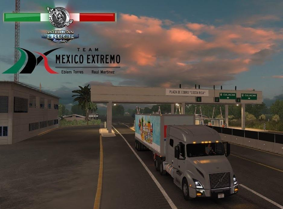 ATS - Mexico Extremo Map V2.1.16 (1.38.x)