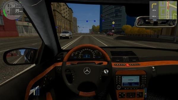 City Car Driving 1.5.9 - Mercedes-Benz S600 W220