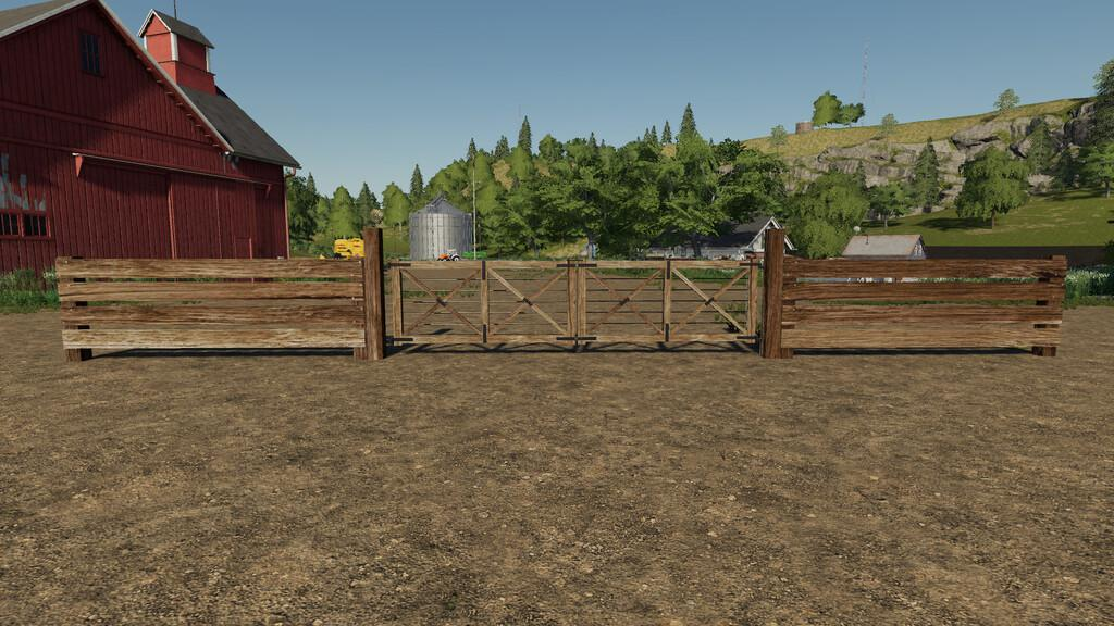FS19 - South American Fence Pack V1.0