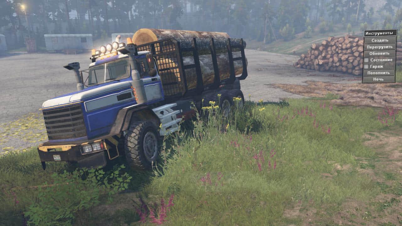 Spintires - Royal BM-17 Truck V1