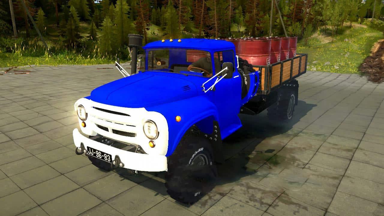 Spintires:Mudrunner - Zil 130 4x4 Truck V1