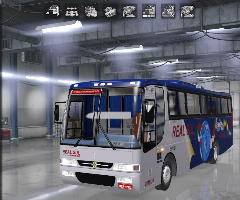 ETS2 - Busscar El Buss 340 Mercedes-Benz Of-1721 (1.36.x)