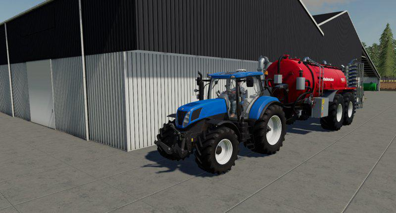 FS19 - New Holland T7000 Series V1.0