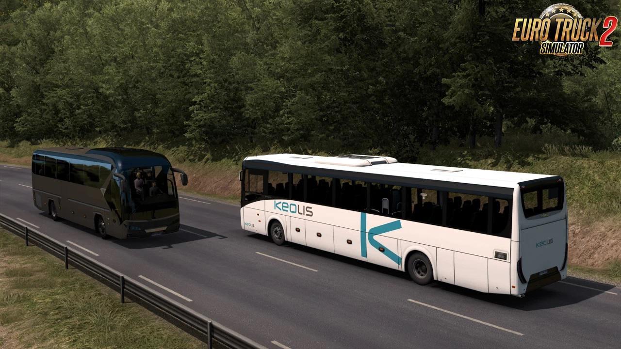 ETS2 - Iveco Evadys Line 13M + Interior V1.0.4 (1.39.x)