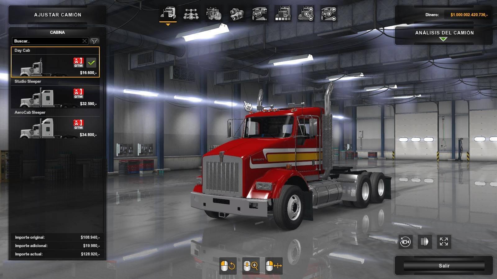 ATS - Gtm Kenworth T800 Truck (1.35.X)