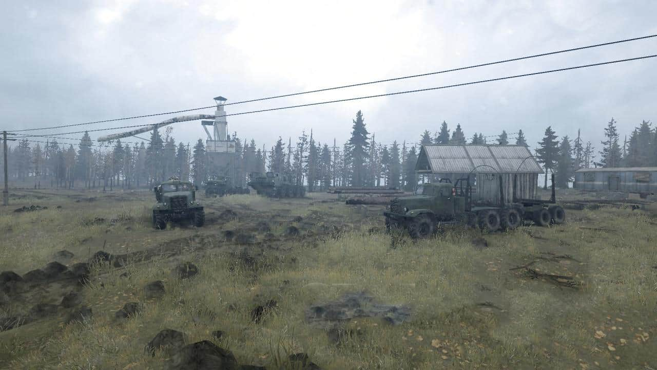 Spintires:Mudrunner - The North Russia Map  09.09.19