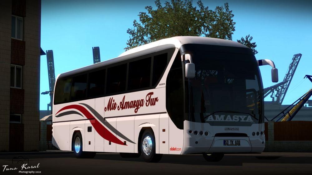 ETS2 - Neoplan Tourliner Euro 5 Bus V2.0 (1.36.x)
