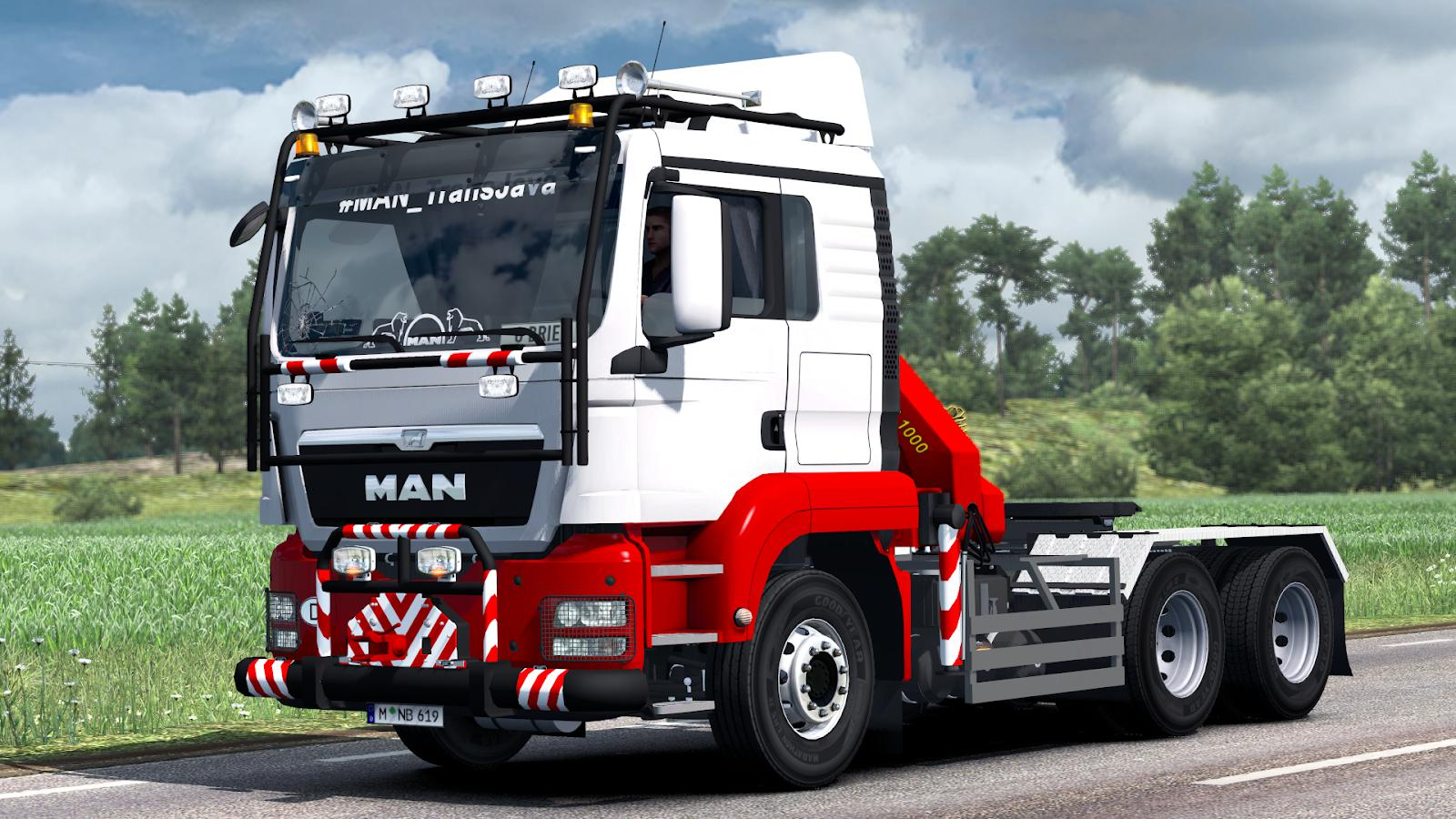 ETS2 - Man Tgs Euro 5 Reworked Truck (1.38.x)