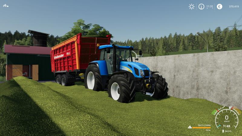 FS19 - New Holland 7550 Tractor V2.0