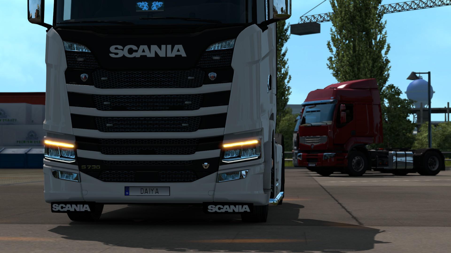 ETS2 - New Flare for Scania V1.0 (1.36.x)