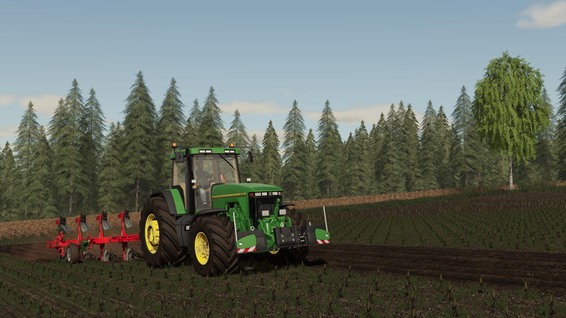 FS19 - John Deere 8000/8010 Tractor V1.0.0.3