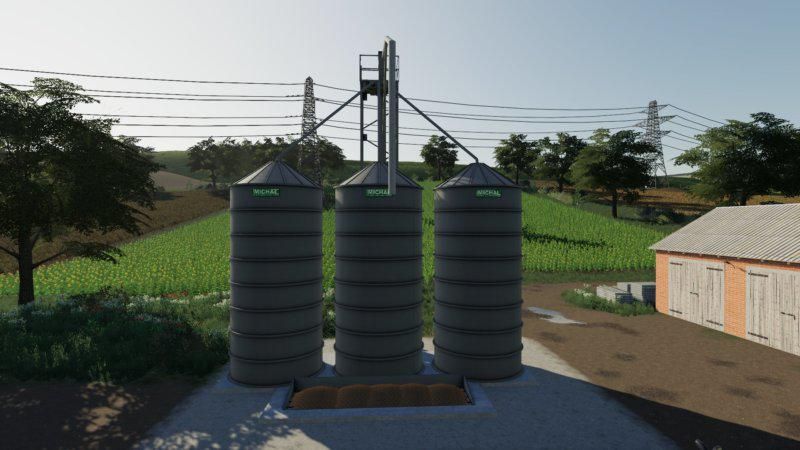 FS19 - Placeable Silos Michal V1.0