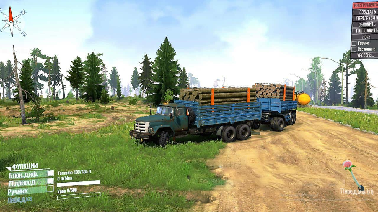 Spintires:Mudrunner - Zil 133 Truck V1.0
