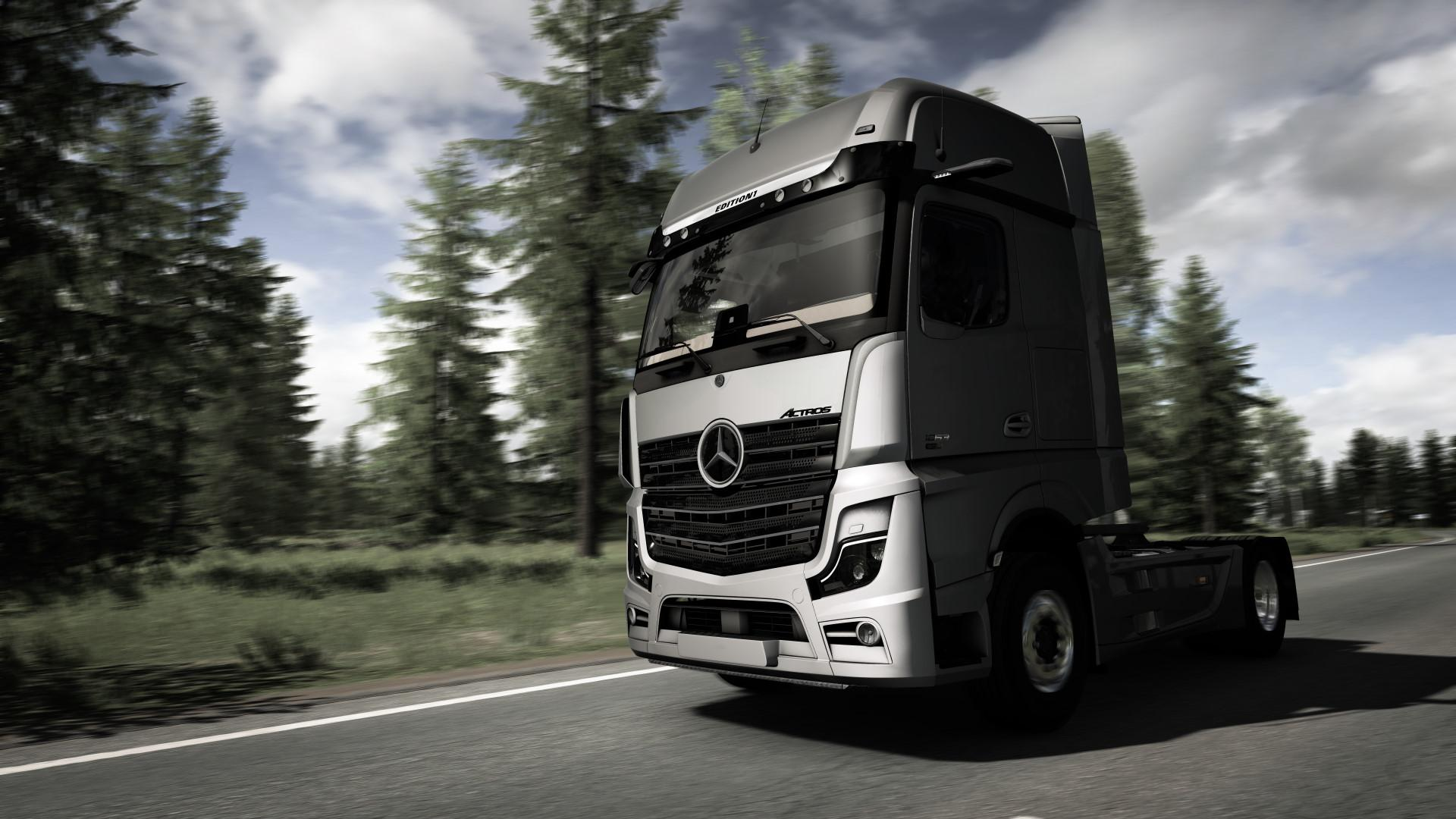 ETS2 - Mercedes-Benz New Actros MP5 Unlocked (1.37.x)