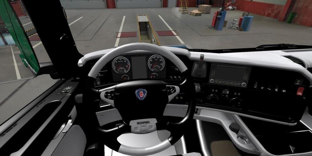 ETS2 - Scania R Interior (1.39 - 1.40)