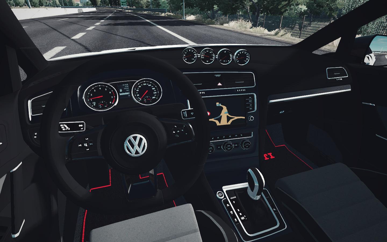 ATS - Volkswagen Golf 7 R Line V1.2 (1.36.X)