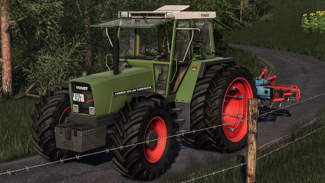 FS19 - Fendt 307-309 Serie V1.0