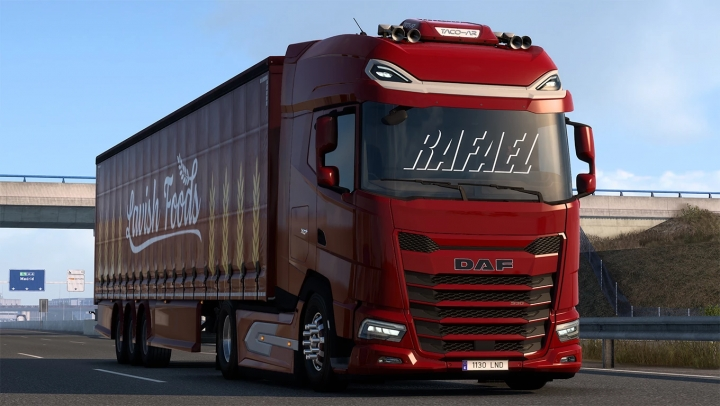 ETS2 - Addon Low Deck and Acessorious for Daf 2021 (1.40.x)