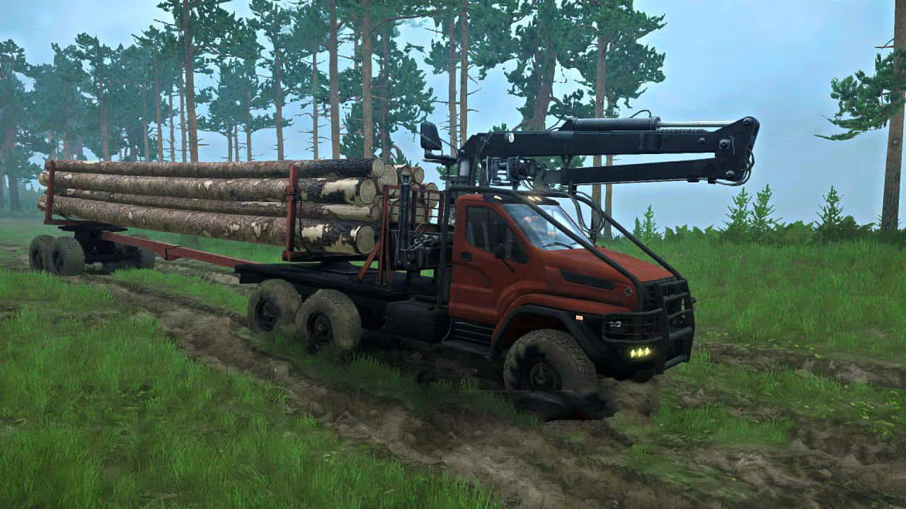 Spintires:Mudrunner - Ural Next Truck V09.10.19
