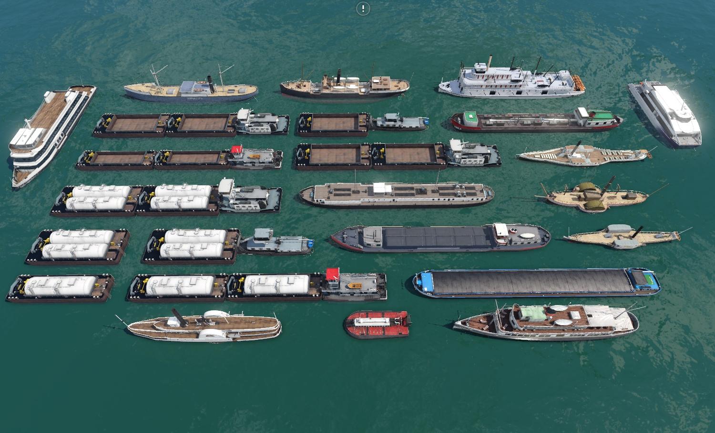 Transport Fever 2 - Asset Ship