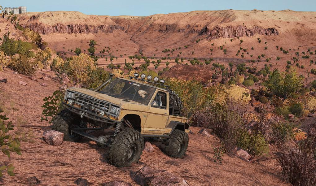 SnowRunner - The Desert Crawler V1.0