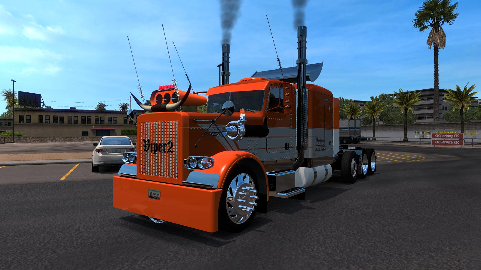 ATS - Peterbilt 389 Edition Custom Danger V1.0 (1.36.x)