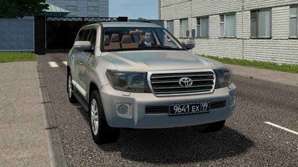 City Car Driving 1.5.9 – Toyota Land Cruiser 200 Brownstone