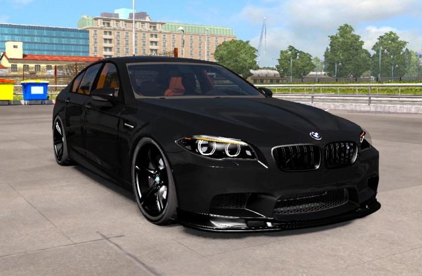 ATS - BMW M5 F10 + Interior V1.1 (1.37.x)