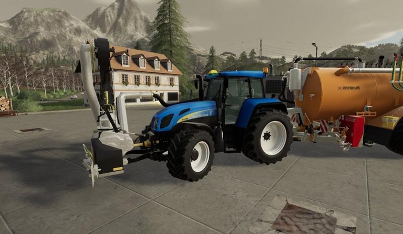 FS19 - New Holland T7550 TVT Tractor V1.0