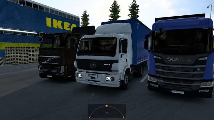 ETS2 - Mercedes-Benz SK V8 Stock Sound V1.0 (1.40.x)