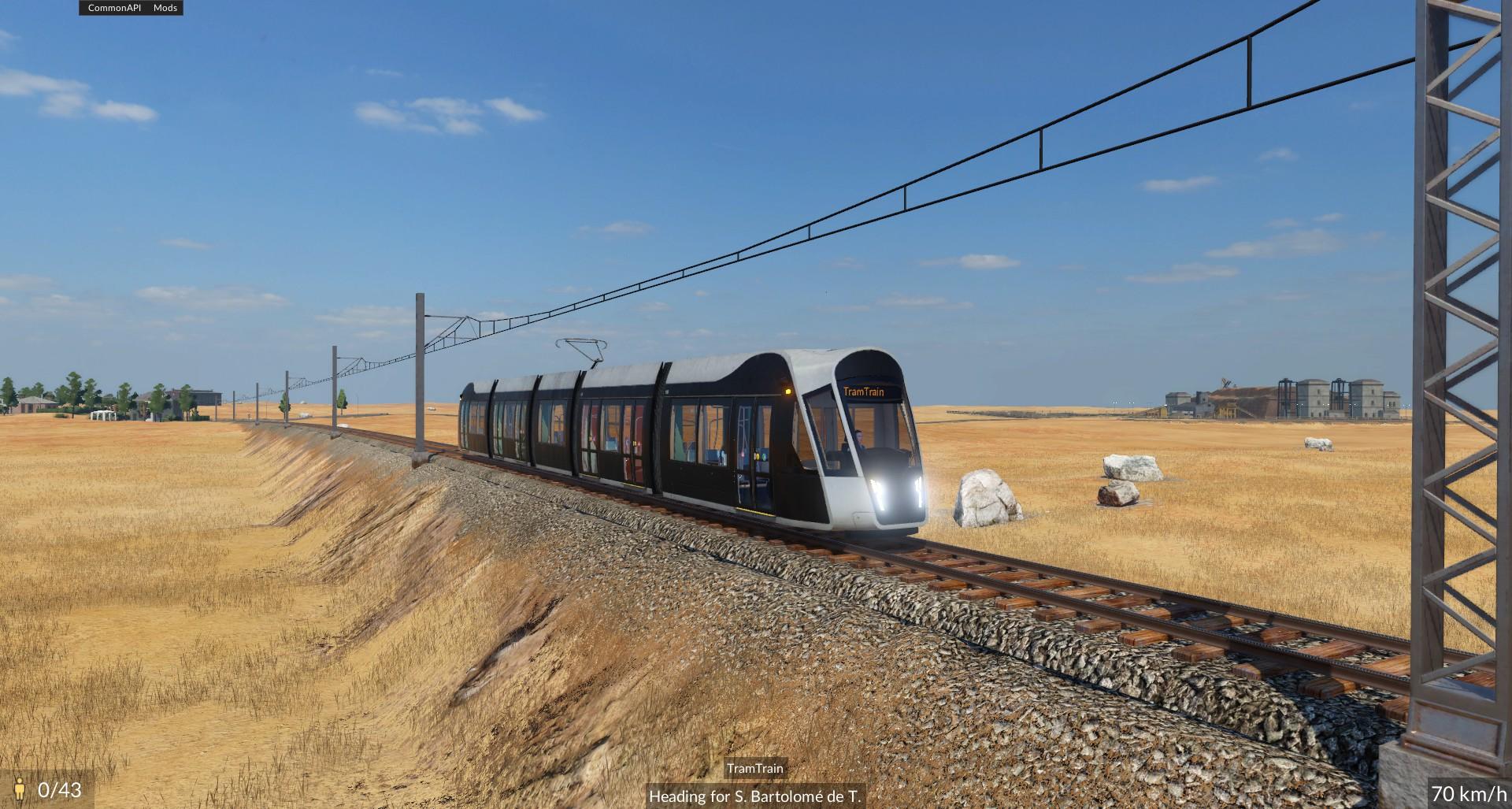 Transport Fever 2 - Tram Train Vanilla
