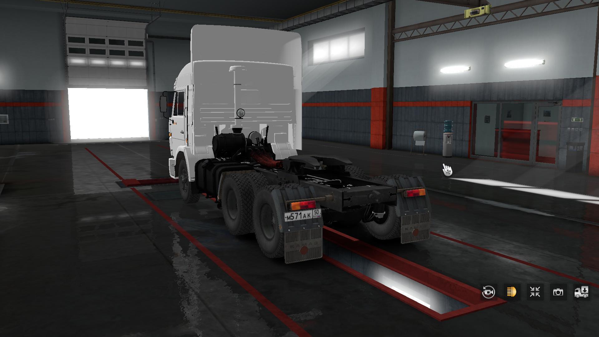ETS2 - Kamaz 54115 Truck (1.36.x)