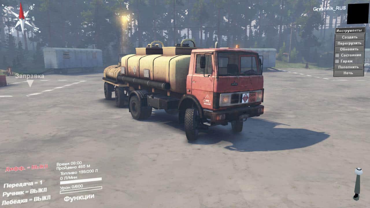 Spintires - Assembly Maz-5337 Truck V1.0