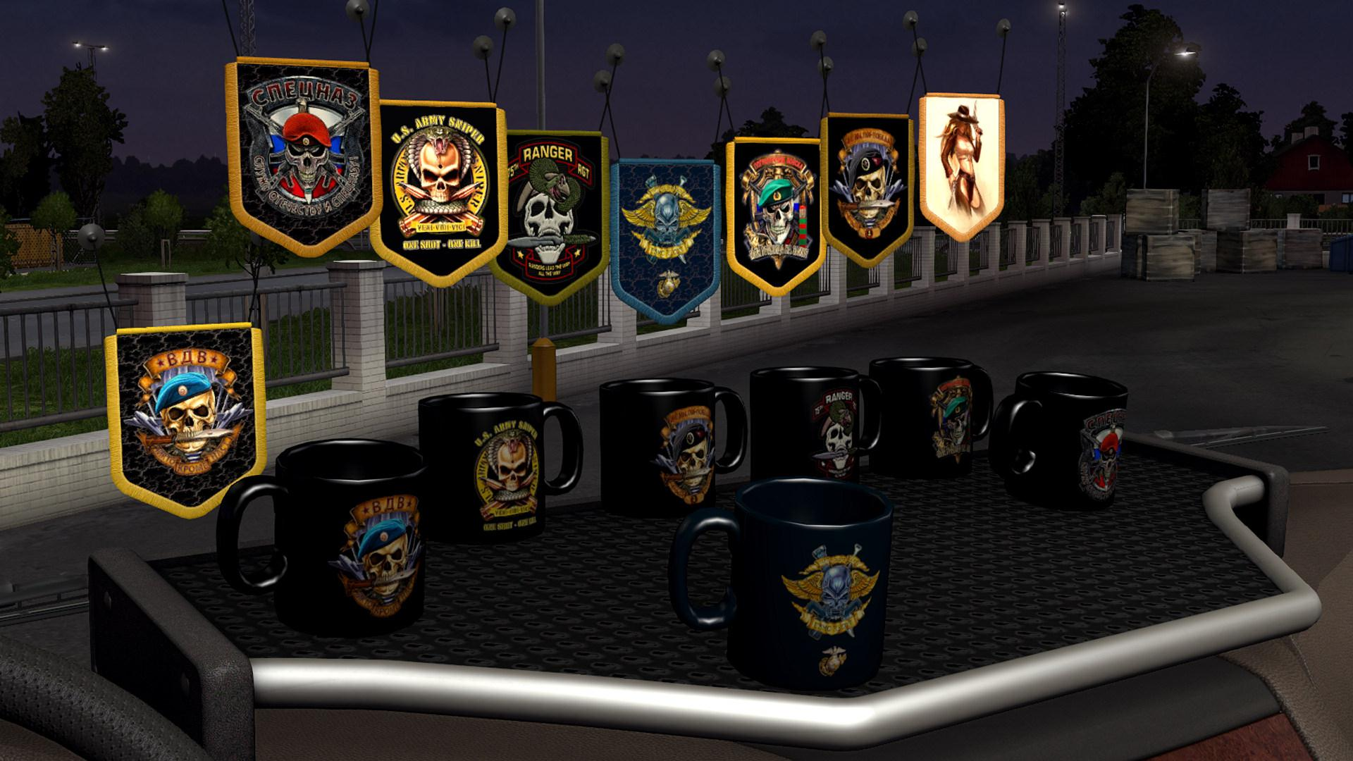 ATS - Accessories Pack Special Forces Final V1.1 (1.39.x)