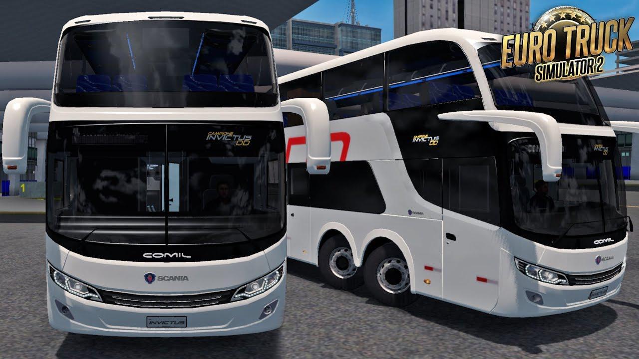 ETS2 - Comil invictus DD Scania V1.1 (1.36.x)
